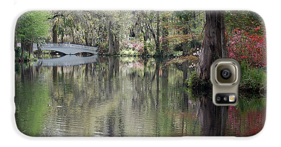 Magnolia Plantation Garden Galaxy S6 Case featuring the photograph Magnolia Plantation Gardens Series II by Suzanne Gaff