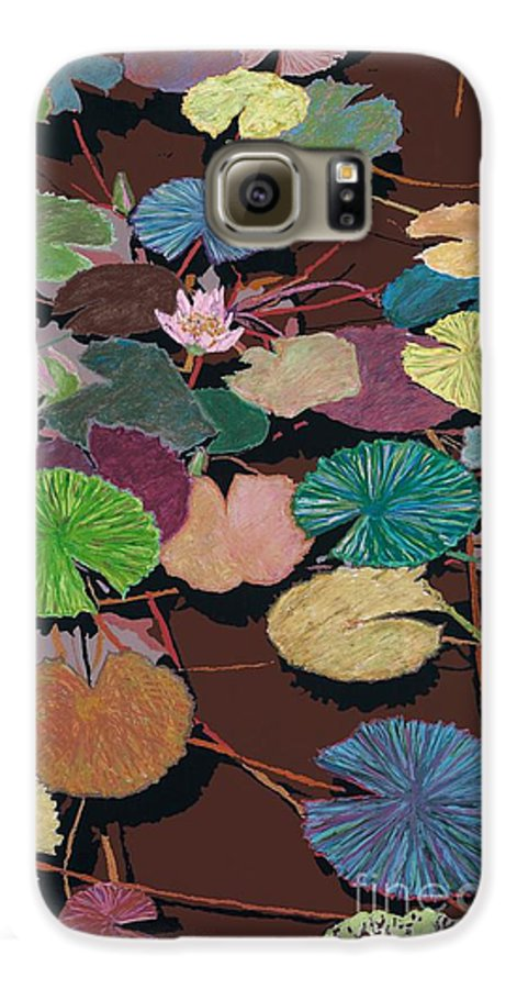 Landscape Galaxy S6 Case featuring the painting Muddy Waters by Allan P Friedlander