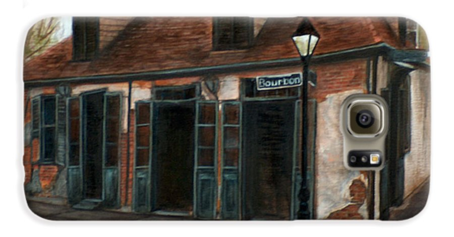 Realism Galaxy S6 Case featuring the painting New Orleans Familiar Site Before by M J Venrick