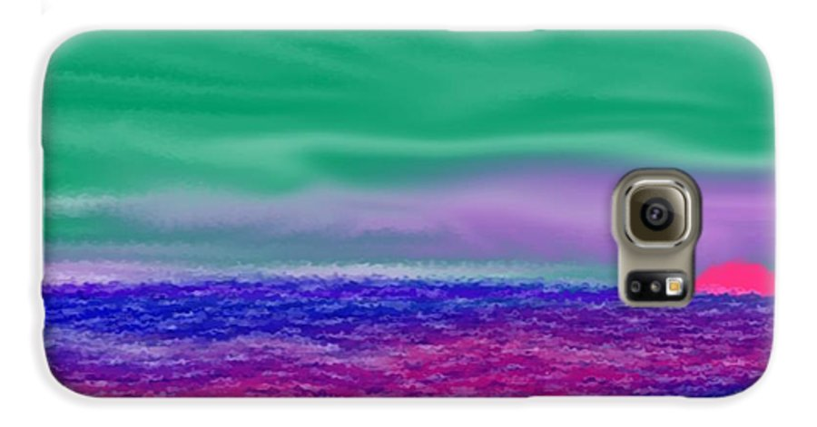 Morning Galaxy S6 Case featuring the digital art One Simple Morning by Dr Loifer Vladimir