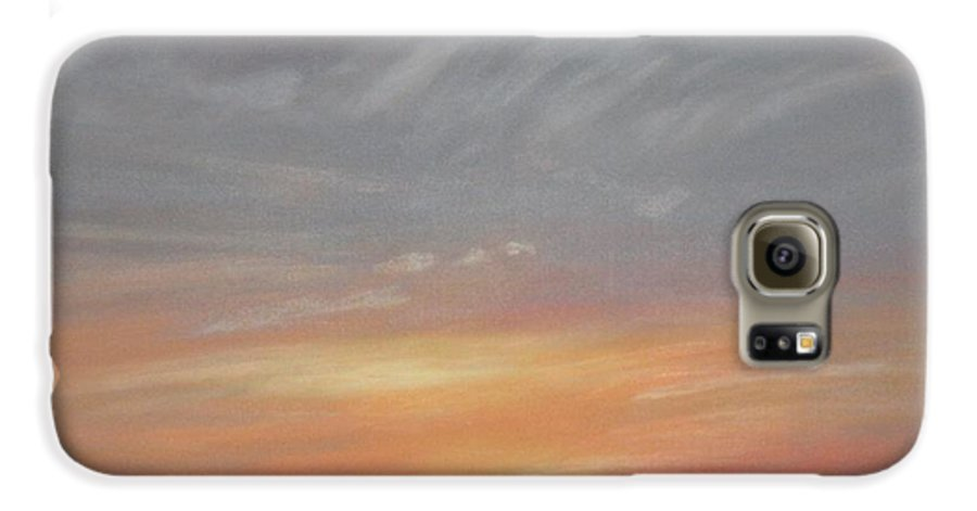 Western Galaxy S6 Case featuring the painting Open To All by Janis Mock-Jones
