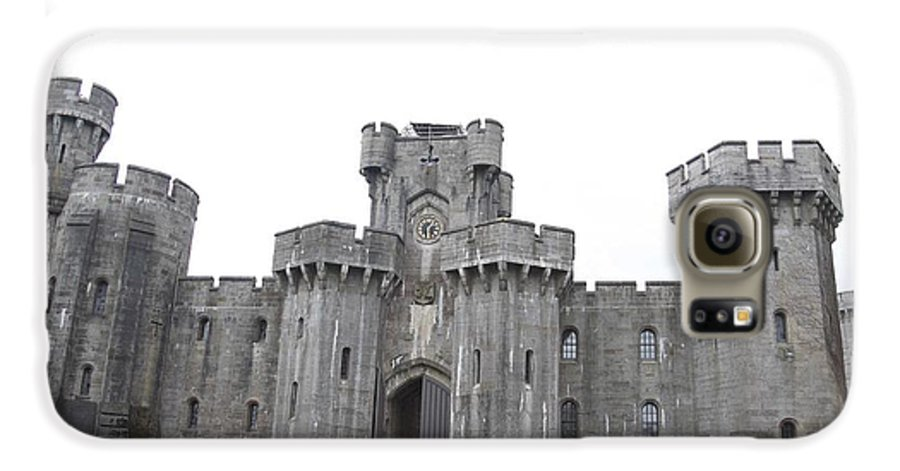 Castles Galaxy S6 Case featuring the photograph Penrhyn Castle by Christopher Rowlands