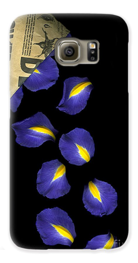 Scanography Galaxy S6 Case featuring the photograph Petal Chips by Christian Slanec