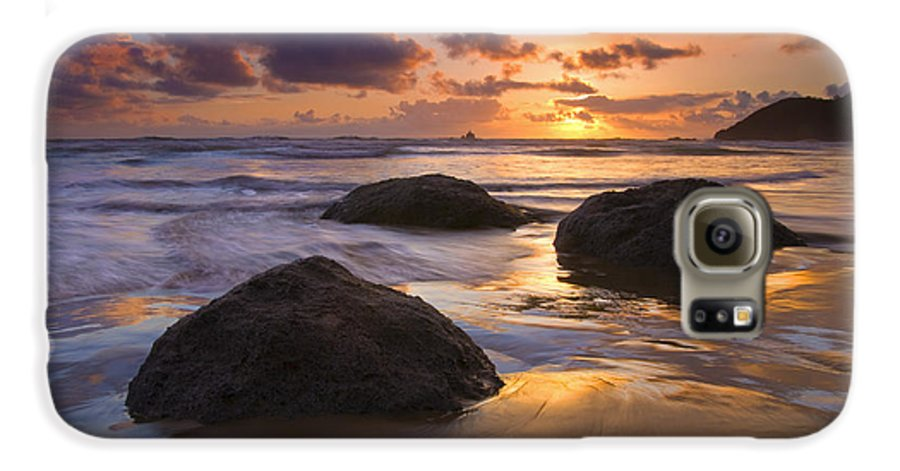 Sunset Galaxy S6 Case featuring the photograph Pieces Of Eight by Mike Dawson