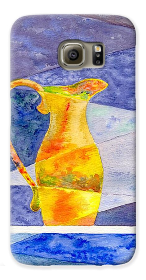 Still Life Galaxy S6 Case featuring the painting Pitcher 1 by Micah Guenther