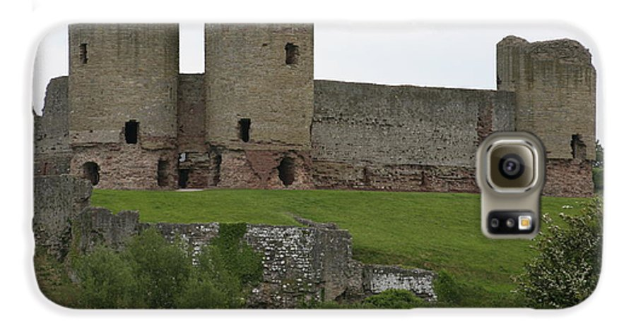 Castles Galaxy S6 Case featuring the photograph Ruddlan Castle 2 by Christopher Rowlands