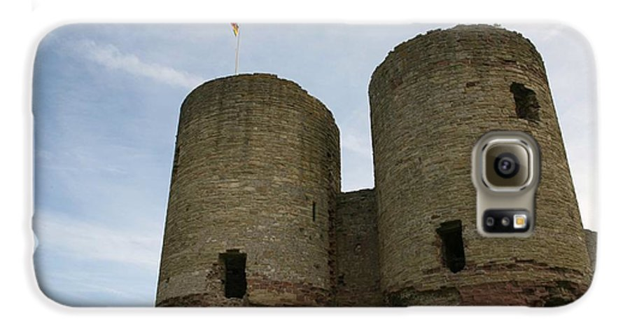 Castles Galaxy S6 Case featuring the photograph Ruddlan Castle by Christopher Rowlands
