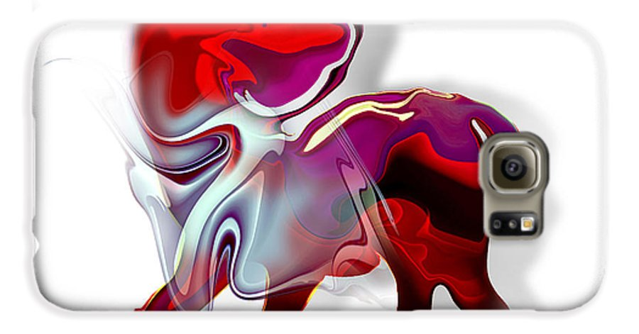 Astrology Galaxy S6 Case featuring the painting Sagittarius by Christian Simonian