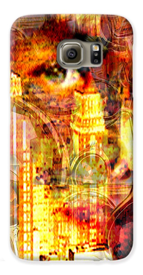 Big City Galaxy S6 Case featuring the photograph Streetwalker by Seth Weaver