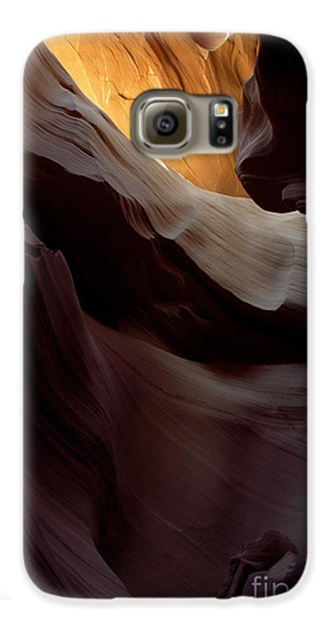 Slot Canyons Galaxy S6 Case featuring the photograph Swopes by Kathy McClure