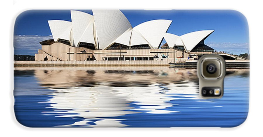 Sydney Opera House Galaxy S6 Case featuring the photograph Sydney Icon by Sheila Smart Fine Art Photography