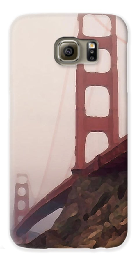 Art Galaxy S6 Case featuring the photograph The Bridge by Piero Lucia