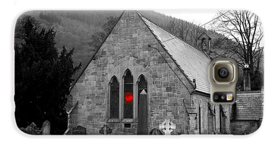 Church Galaxy S6 Case featuring the photograph The Church by Christopher Rowlands