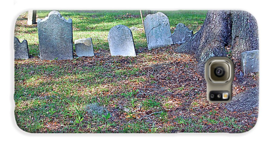 Grave Galaxy S6 Case featuring the photograph The Headstones Of Slaves by Suzanne Gaff