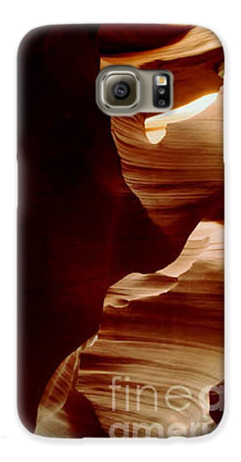 Landscape Galaxy S6 Case featuring the photograph The Heart Of Antelope Canyon by Kathy McClure