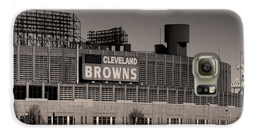 Cleveland Galaxy S6 Case featuring the photograph The Hometeams by Kenneth Krolikowski