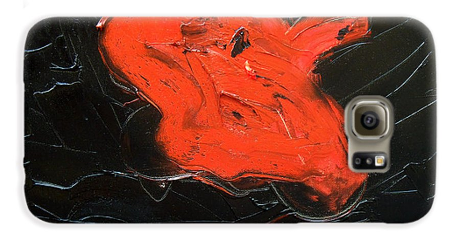 Surreal Galaxy S6 Case featuring the painting The Last Hope by Sergey Bezhinets