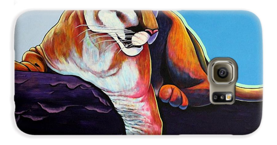 Wildlife Galaxy S6 Case featuring the painting The Toll Collector by Joe Triano