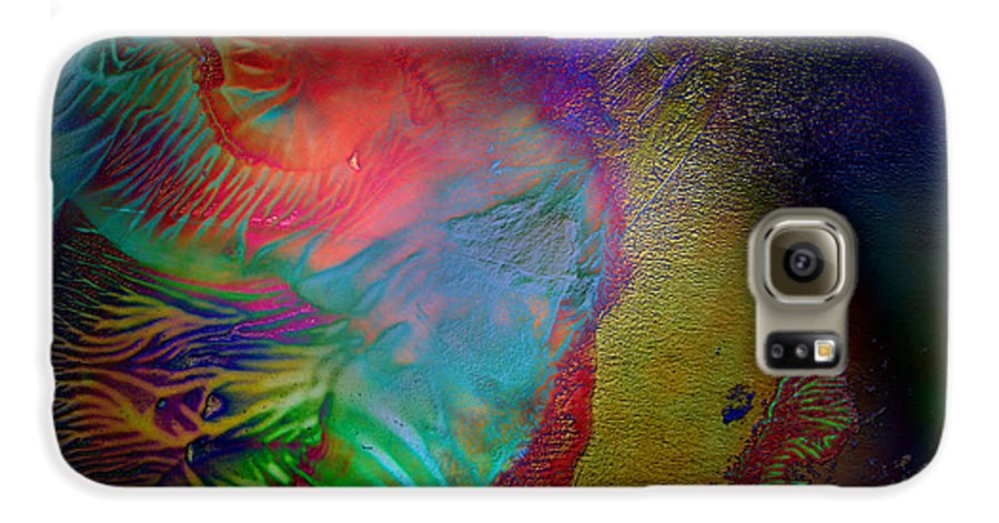 Surrealism Galaxy S6 Case featuring the digital art Topology Of Decalcomania by Otto Rapp