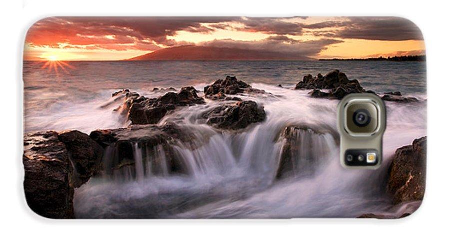 Hawaii Galaxy S6 Case featuring the photograph Tropical Cauldron by Mike Dawson