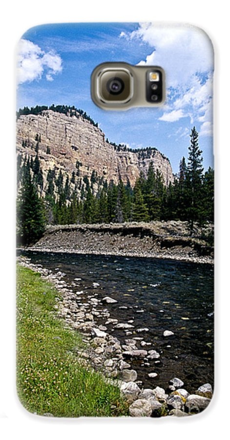Landscape Galaxy S6 Case featuring the photograph Upriver In Washake Wilderness by Kathy McClure