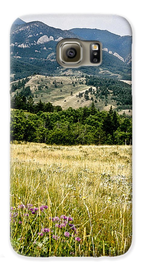 Wilderness Galaxy S6 Case featuring the photograph Washake Wilderness by Kathy McClure