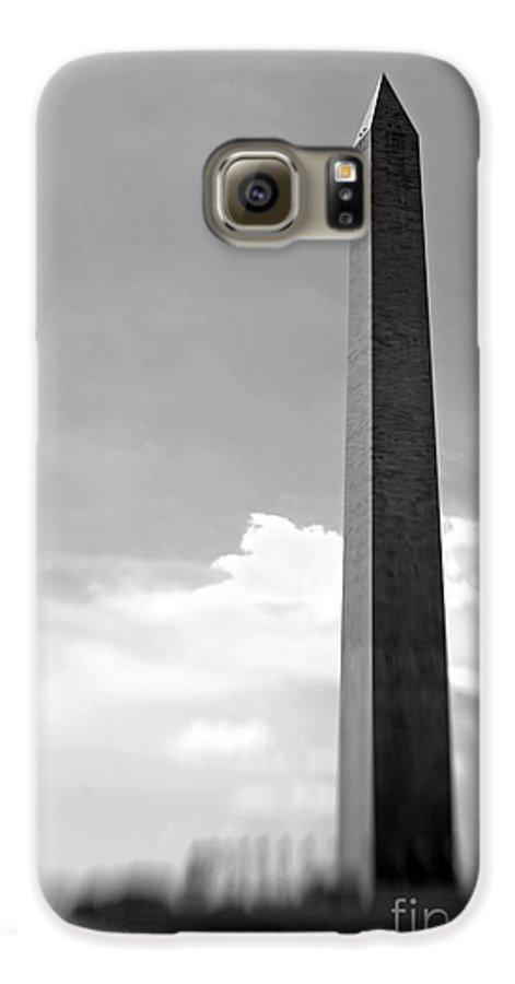 Washington Galaxy S6 Case featuring the photograph Washington Monument by Tony Cordoza