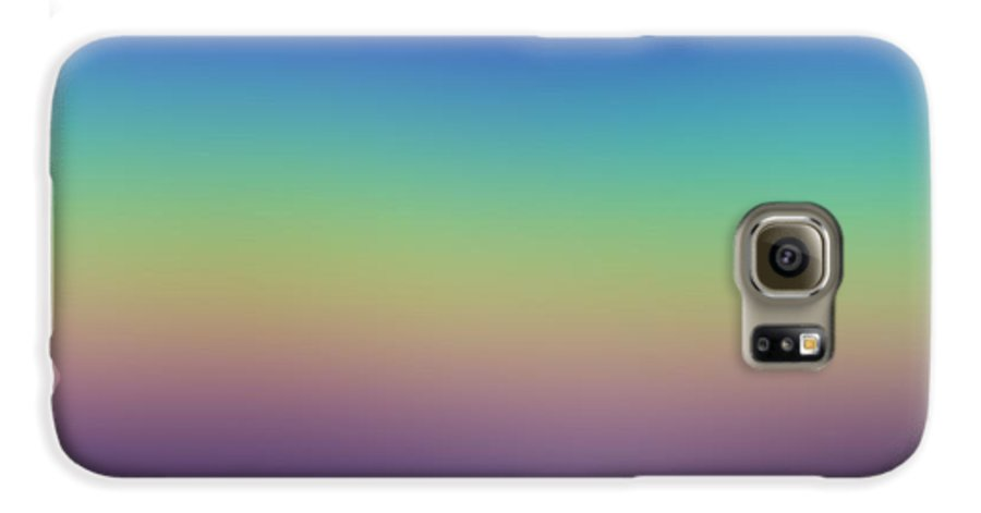 Evening.colors.silince.rest.sky.sea.clean Sky.violet.blue.yellow.rose.darkness. Galaxy S6 Case featuring the digital art Evening by Dr Loifer Vladimir