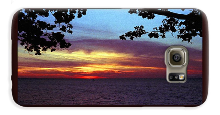 Sunset Galaxy S6 Case featuring the photograph 070506-68 by Mike Davis
