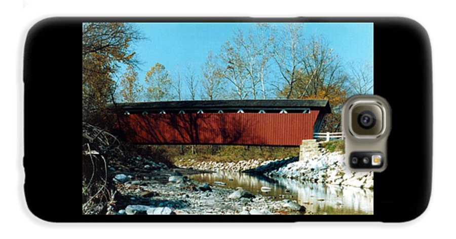 Bridge Galaxy S6 Case featuring the photograph 072106-31 by Mike Davis