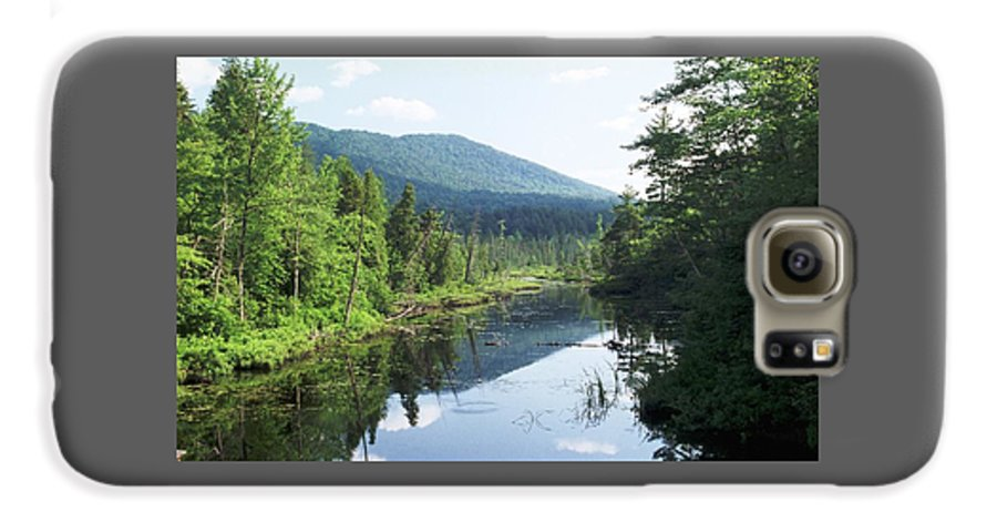 Mountain Galaxy S6 Case featuring the photograph 070506-84 by Mike Davis