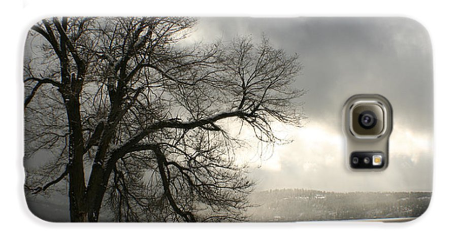 Lake Galaxy S6 Case featuring the photograph Luminescence by Idaho Scenic Images Linda Lantzy