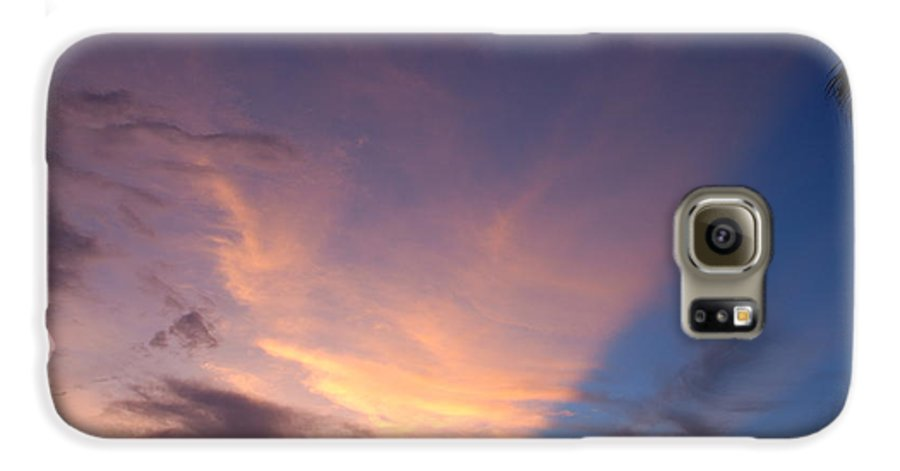 Sunset Galaxy S6 Case featuring the photograph Sunset At Pine Tree by Rob Hans