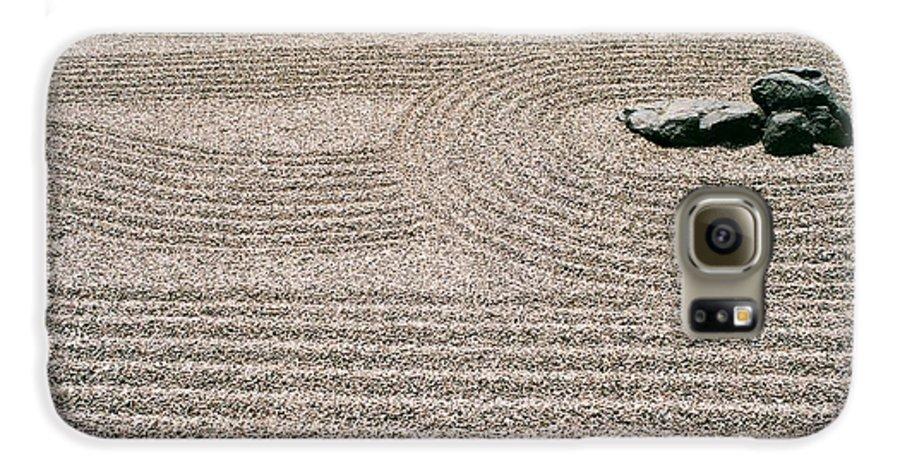 Zen Galaxy S6 Case featuring the photograph Zen Garden by Dean Triolo