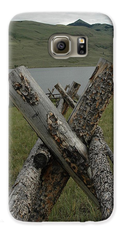 Landscape Galaxy S6 Case featuring the photograph Untitled by Kathy Schumann
