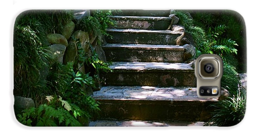 Nature Galaxy S6 Case featuring the photograph Stone Steps by Dean Triolo
