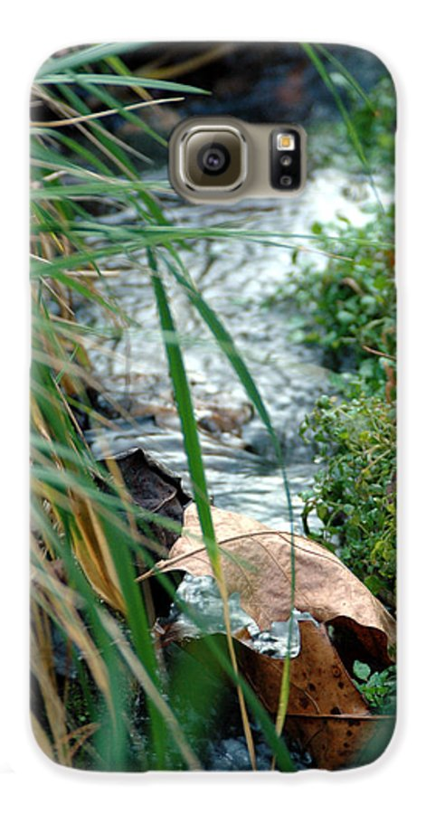 Stream Galaxy S6 Case featuring the photograph Untitled by Kathy Schumann