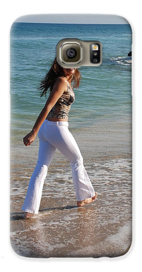 Women Galaxy S6 Case featuring the photograph Gisele by Rob Hans
