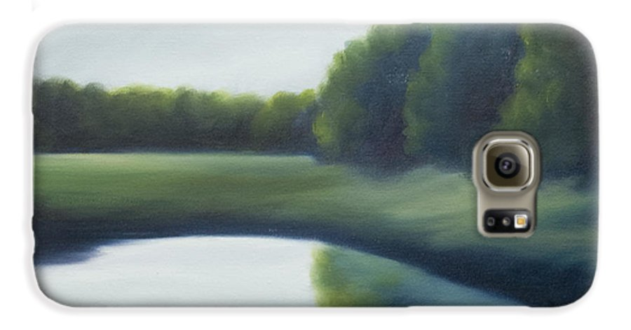 Clouds Galaxy S6 Case featuring the painting A Day In The Life 2 by James Christopher Hill