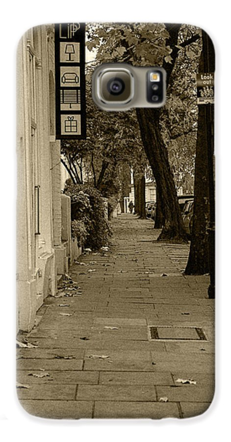 London Galaxy S6 Case featuring the photograph A London Street I by Ayesha Lakes