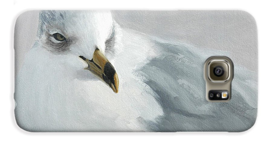 Painting Galaxy S6 Case featuring the painting A Quiet Morning by Greg Neal