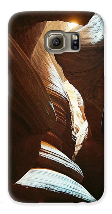 Arizona Galaxy S6 Case featuring the photograph A Spritual Light by Cathy Franklin