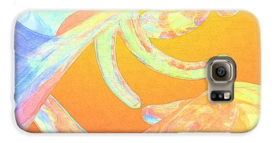 Abstract Galaxy S6 Case featuring the photograph Abstract Number 1 by Peter J Sucy