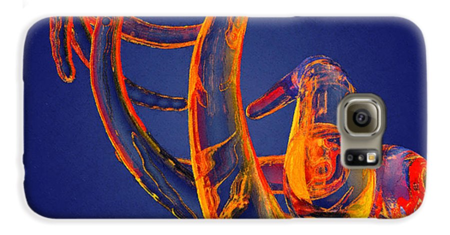 Abstract Galaxy S6 Case featuring the photograph Abstract Number 13 by Peter J Sucy