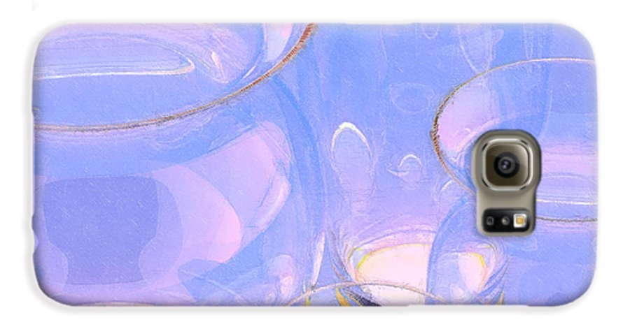 Abstract Galaxy S6 Case featuring the photograph Abstract Number 18 by Peter J Sucy
