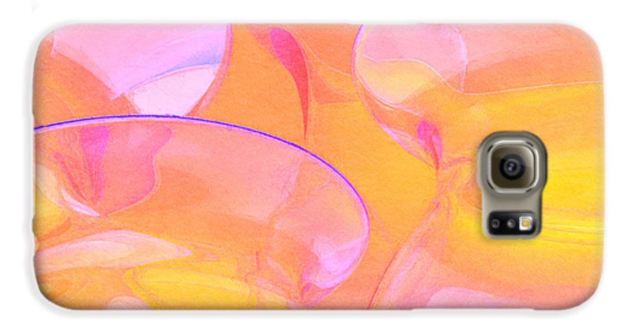 Abstract Galaxy S6 Case featuring the photograph Abstract Number 19 by Peter J Sucy
