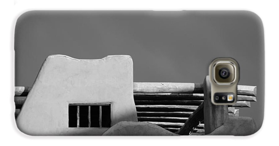 Architecture Galaxy S6 Case featuring the photograph Adobe Turrett by Rob Hans