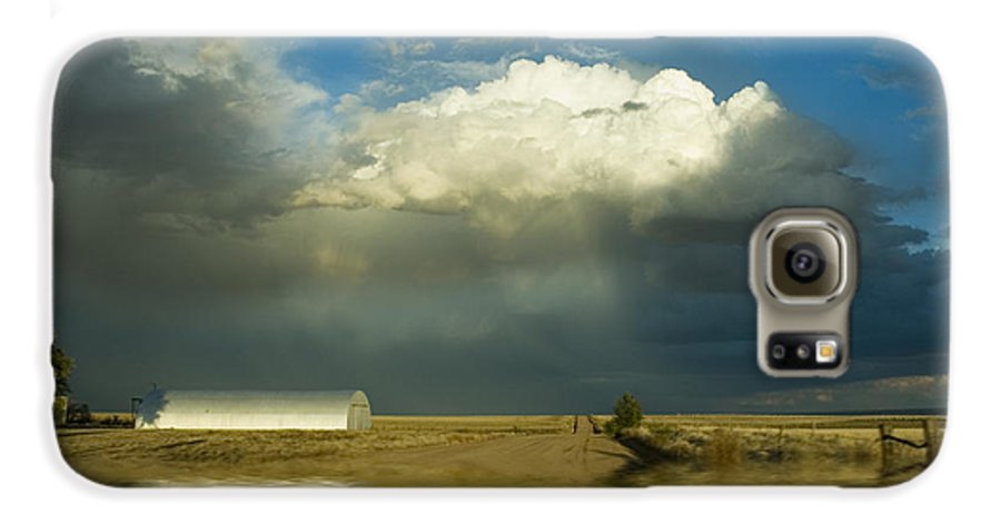 Storm Galaxy S6 Case featuring the photograph After The Storm by Jerry McElroy
