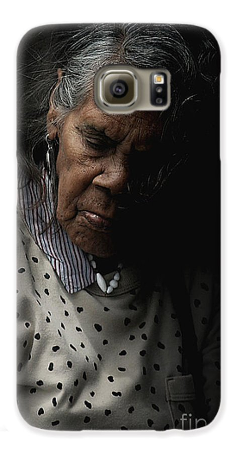 Portrait Galaxy S6 Case featuring the photograph Alice by Avalon Fine Art Photography
