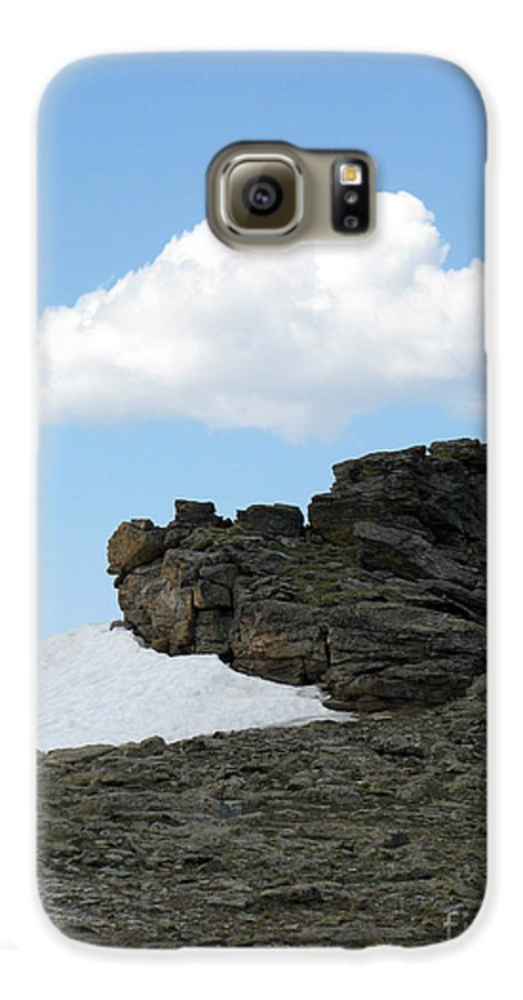 Rocky Mountains Galaxy S6 Case featuring the photograph Alpine Tundra - Up In The Clouds by Amanda Barcon